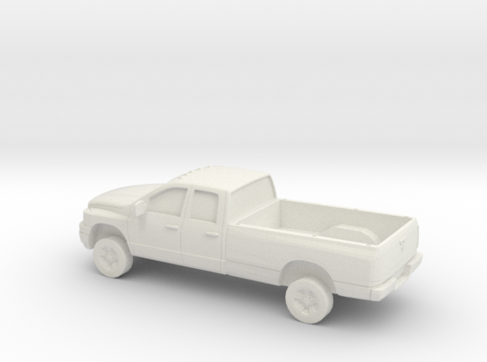 1/87 2006 Dodge Ram Crew Cab/ Long Bed 3d printed