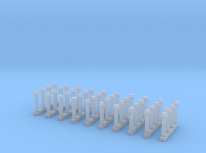 B-Blindkupplungen 10 x 4Stück 3d printed