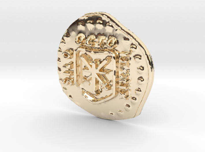 Shiloh pirate coin 3d printed