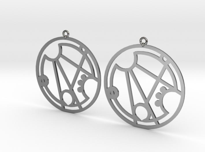 Gracee - Earrings - Series 1 3d printed
