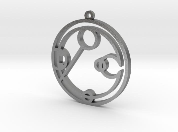 Ebony - Necklace 3d printed