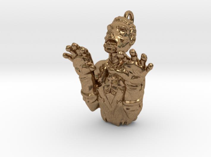 Zombie Pendant 3d printed