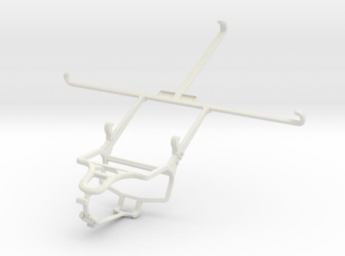 Controller mount for PS4 & Apple iPad mini Wi-Fi + 3d printed