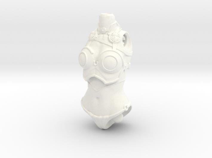 FB01-Torso-15s  6inch 3d printed