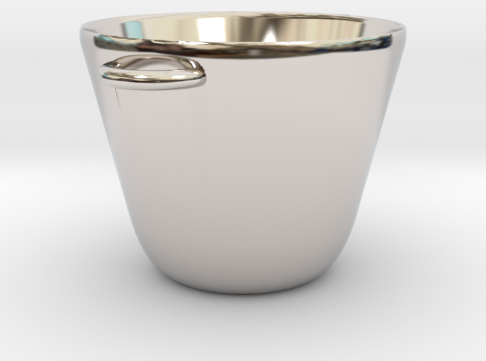 Mini Cooking Pot for Making Miniature Meals 3d printed