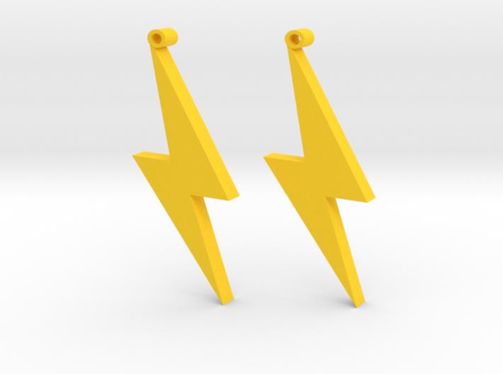 lightning Strike 3d printed