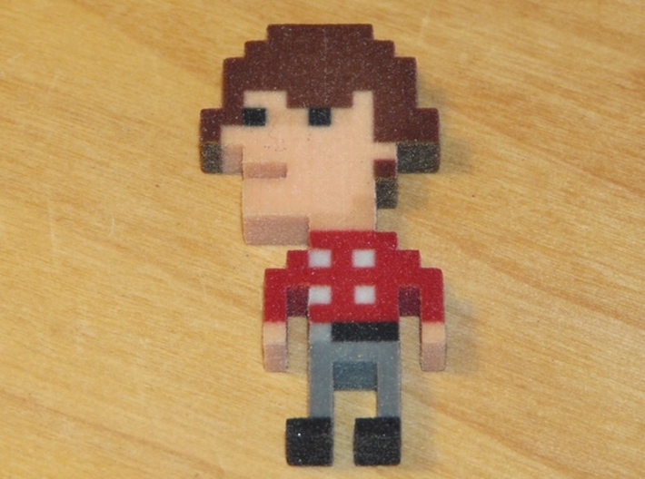 Monkees Micky iotacon 3d printed