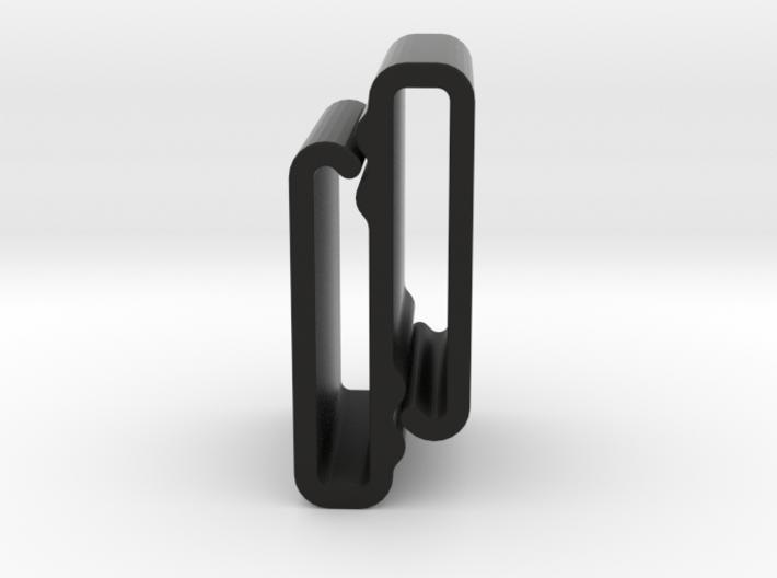 S Belt Clip Single Strap Molle (Medium Duty) 3d printed