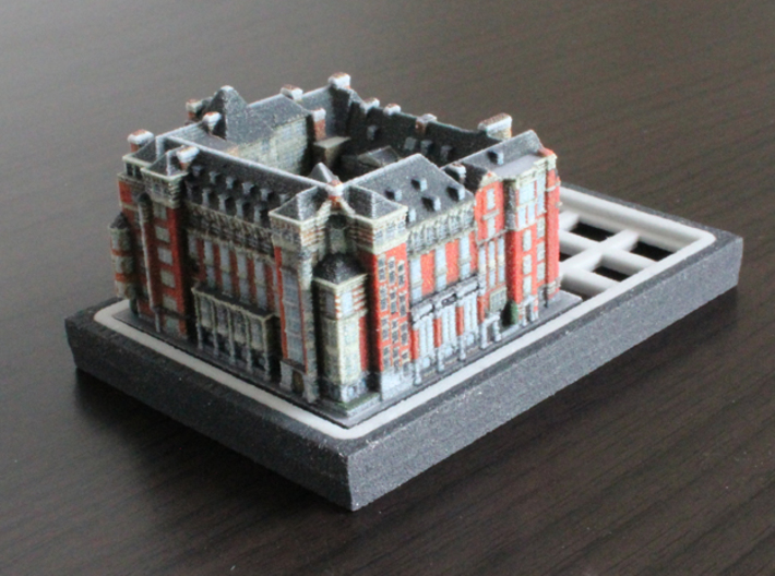 Church Commissioners Office Westminster 5 x 4  3d printed