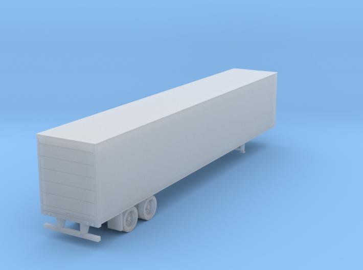 53' Semi Trailer Roller Door 3d printed