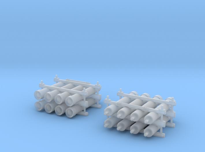 Flaschenbatterie 2x 3d printed