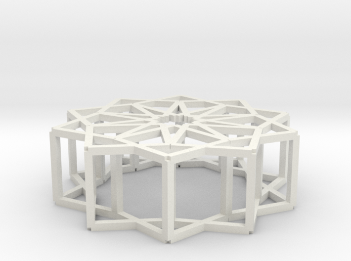 Cube Star Ornament 2.0 3d printed