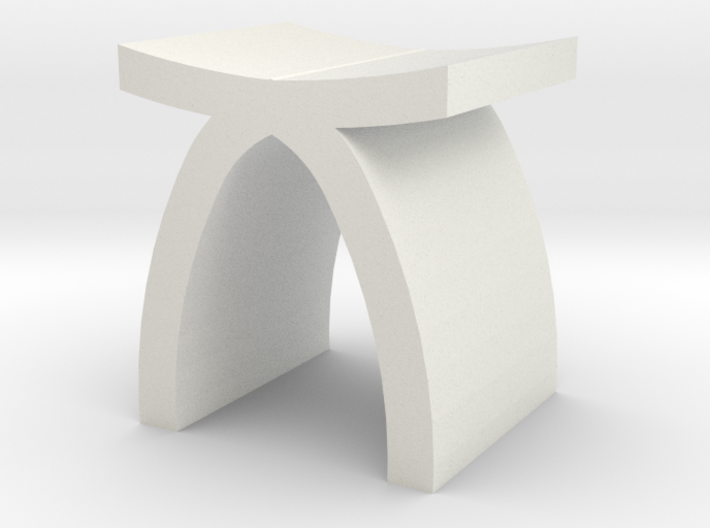 1:48 Capelli Stool 3d printed