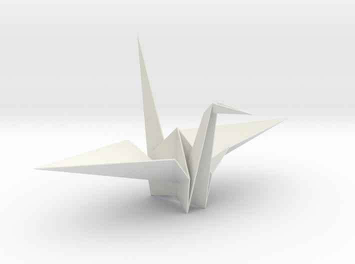 Fold Origami Crane 3d printed