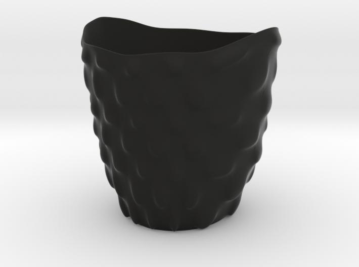 """Vase 'Bubbles' - 8cm / 3.15"""" 3d printed"""