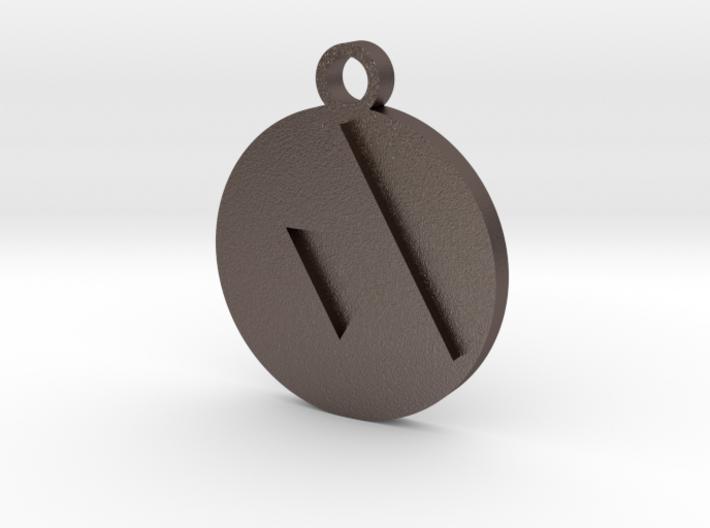 Legend of Zelda Triforce Pendant Necklace 3d printed