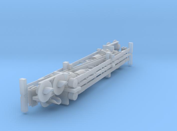 HO: Swedish - ASSA lattice barrier 3d printed