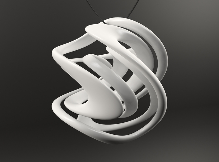 LIMITLESS Necklace Pendant 3d printed