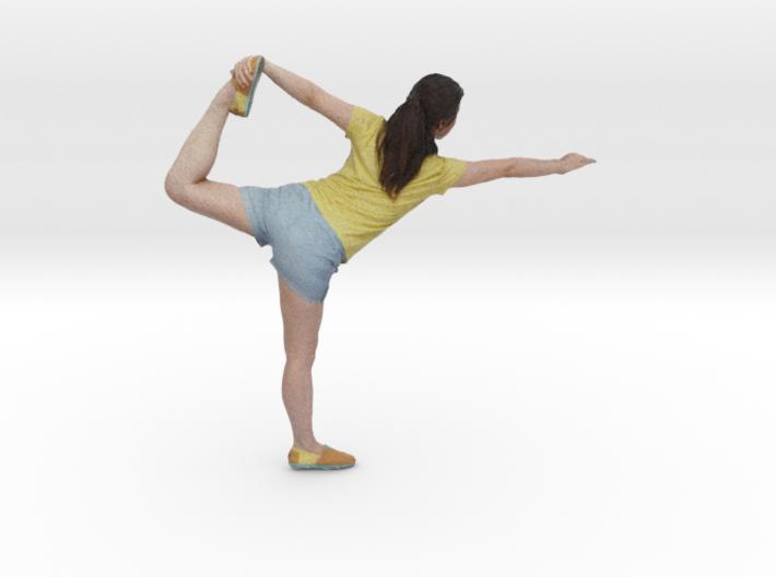 Yoga Pose (Lord of the Dance Pose - Natarajasana) 3d printed