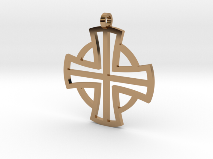 Small Pectoral Cross 3d printed