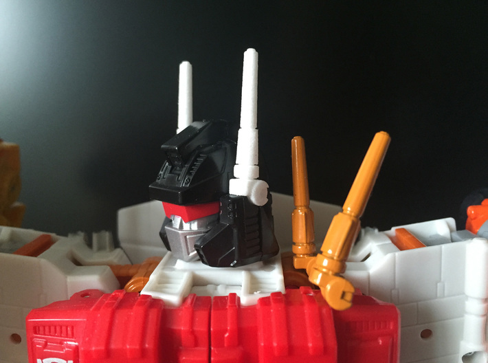 CW: Superion's antenna 3d printed