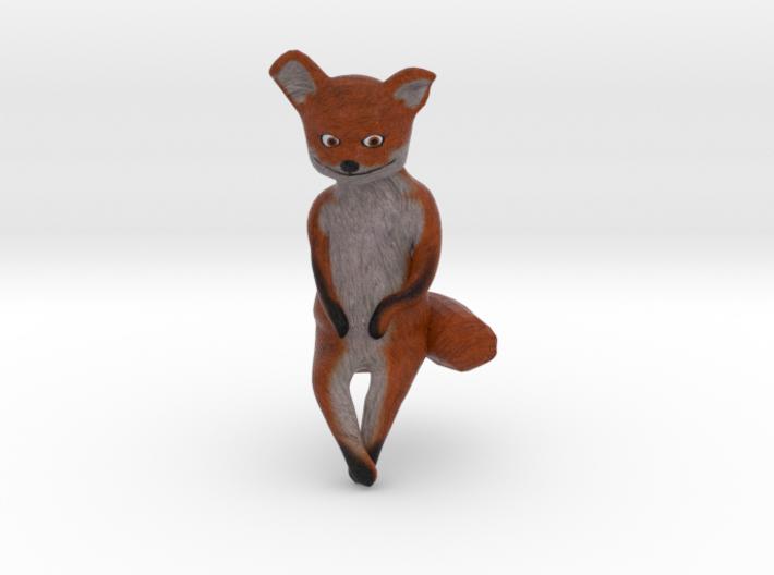 Taxidermy Fox 3d printed