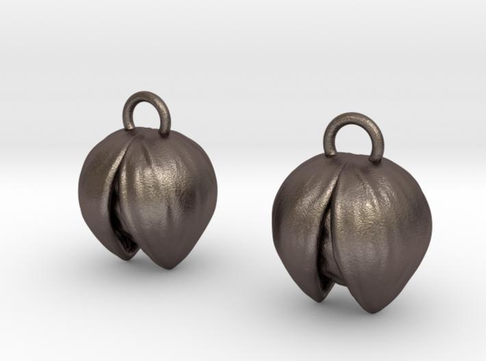 Deku Earrings 3d printed