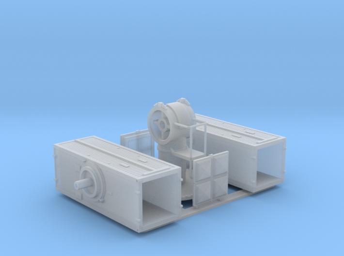 Sea Sparrow Launcher Kit 1/72 3d printed