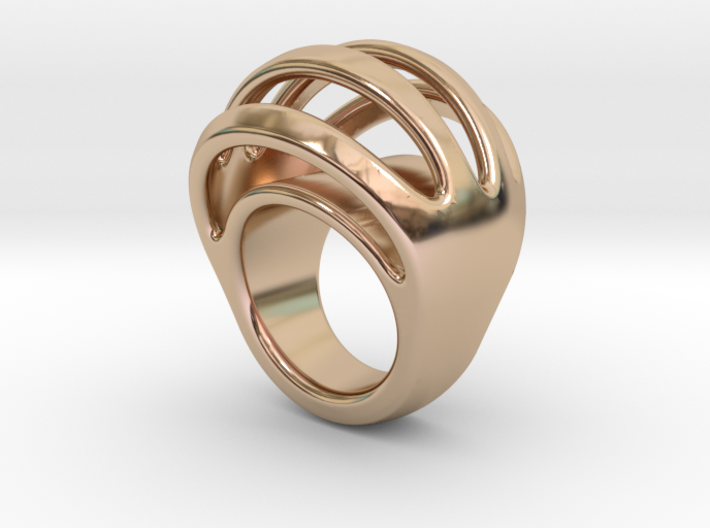 RING CRAZY 14 - ITALIAN SIZE 14 3d printed