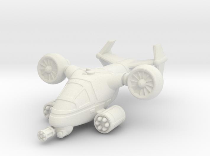 Terran VTOL Cruise Mode 3d printed