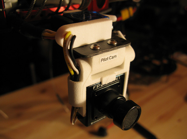 PIC Cam Tilt Assembly - Stacked-2 3d printed Add a caption...