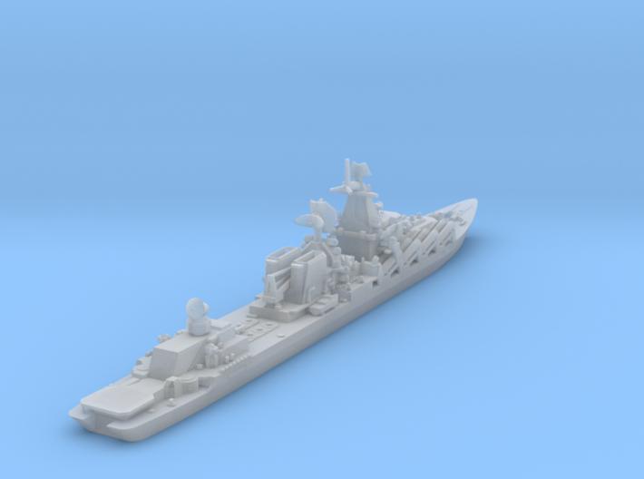1/1800 Slava Soviet Missile Cruiser 3d printed