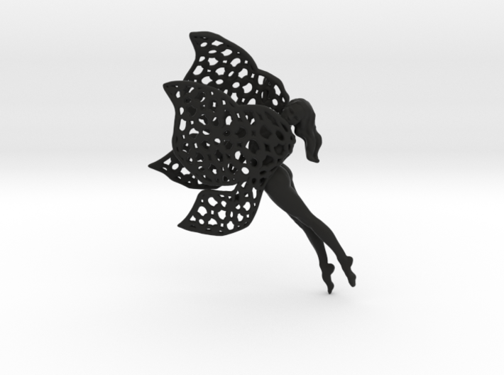 Flittering fairy 3d printed