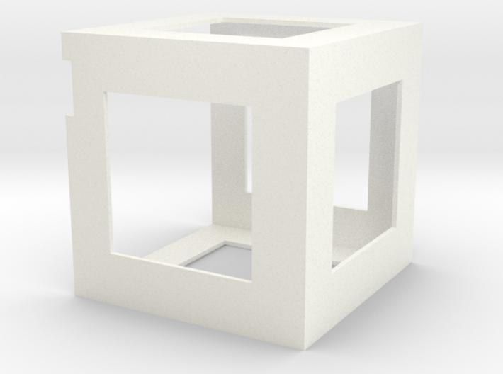PocketQube Micro-Satellite Frame 3d printed