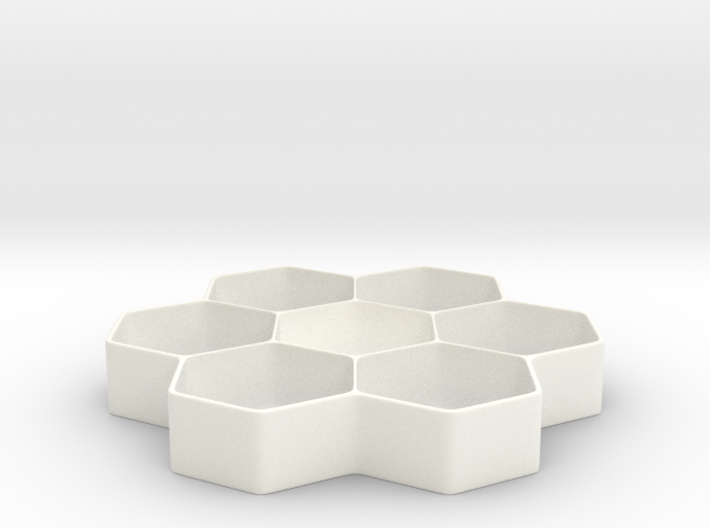 Honeycomb Battery Dispenser D 3d printed