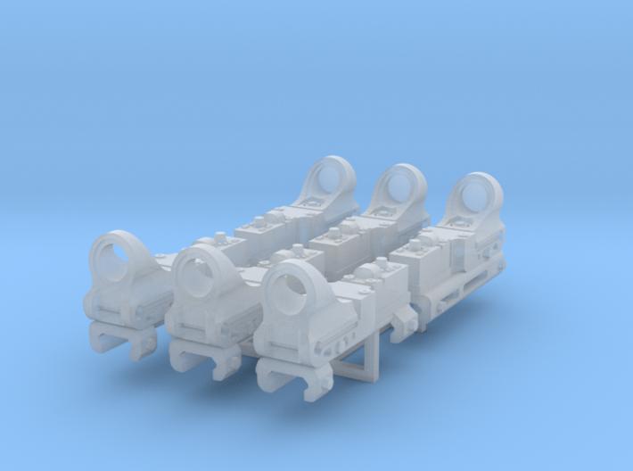 1:6 SCALE REFLEX SIGHTS 6X 3d printed