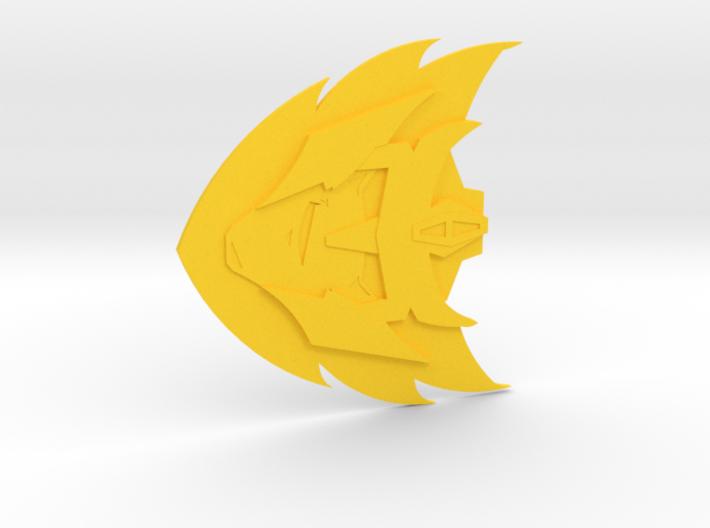 The Rodimus Star 3d printed