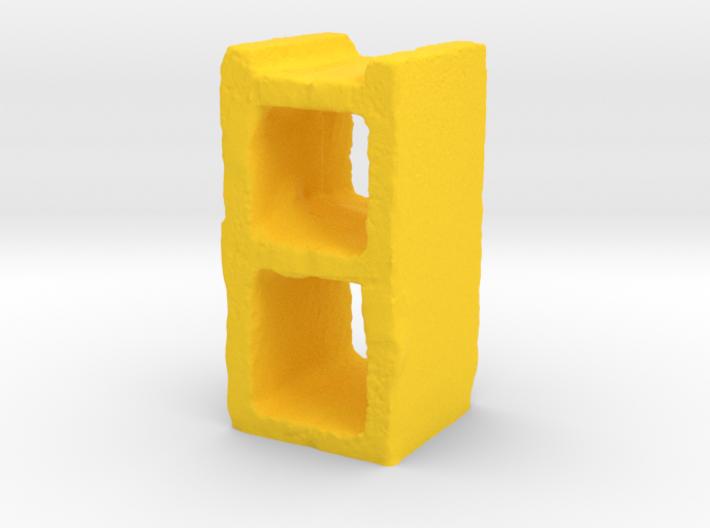 Cinder Block 3d printed
