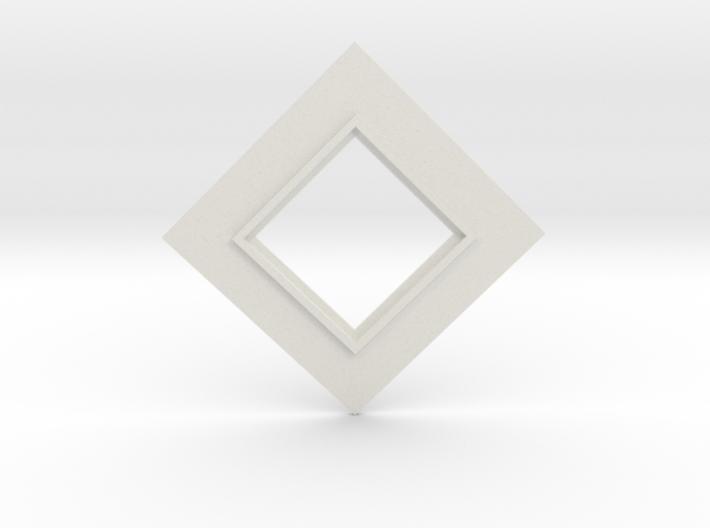 Holocron Core Lid 3d printed