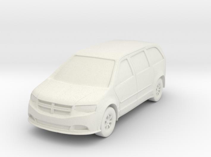 Minivan At N Scale 3d printed