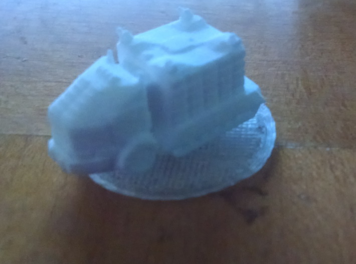 Troop Truck 6mm 3d printed Base not included