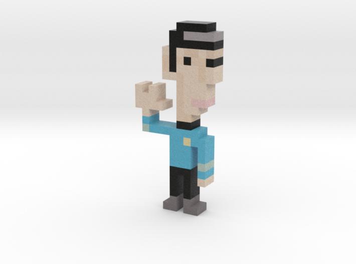 Spock iotacon 3d printed