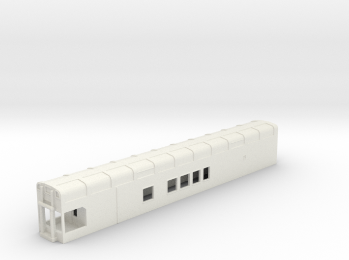 N Scale Rocky Mountaineer B Series 6'9 Platform 3d printed