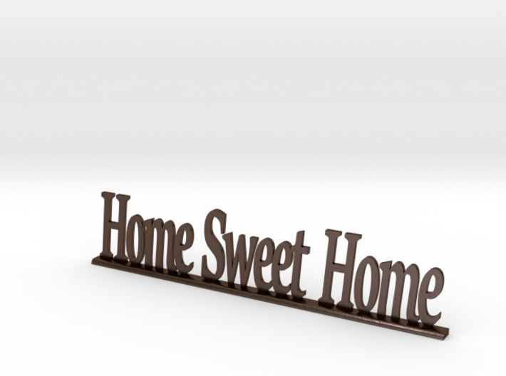 """Letters 'Home Sweet Home' 7.5cm / 3.00"""" 3d printed"""