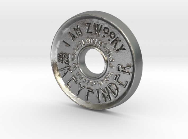 ZWOOKY Style 42 Sample - pendant donut 3d printed