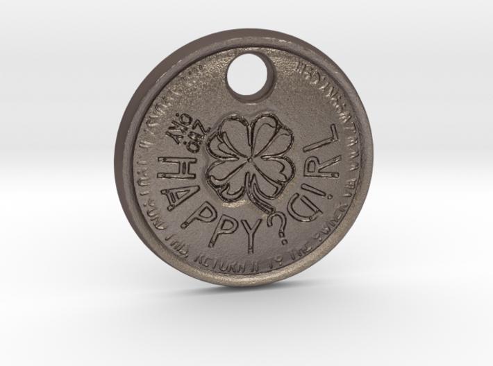 ZWOOKY Style 70 Sample - keychain cloverleaf 3d printed