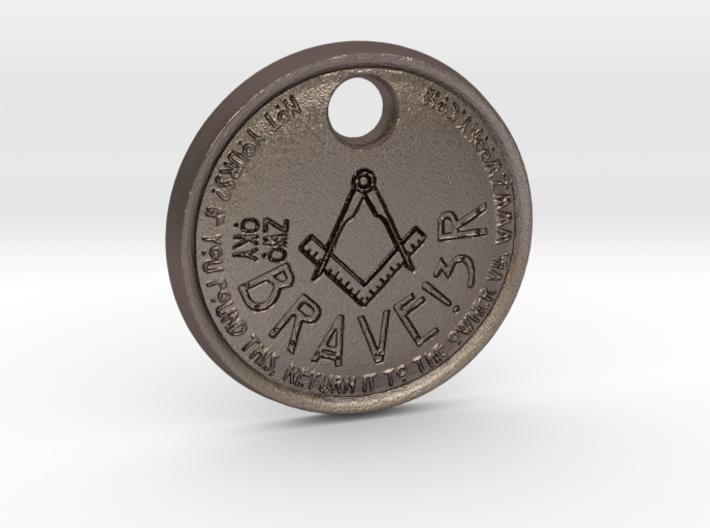 ZWOOKY Style 69 Sample - keychain loge 3d printed