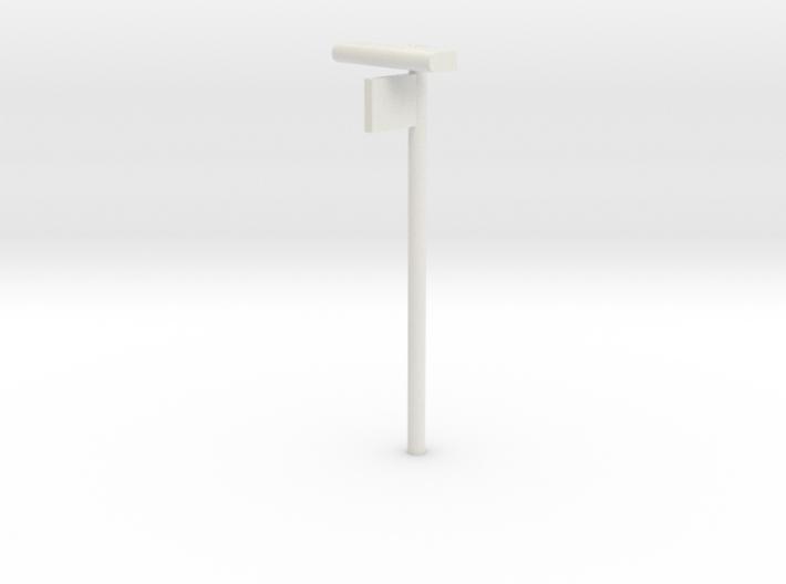DSB Stations lampe med perronafsnit VIA 1/87 3d printed