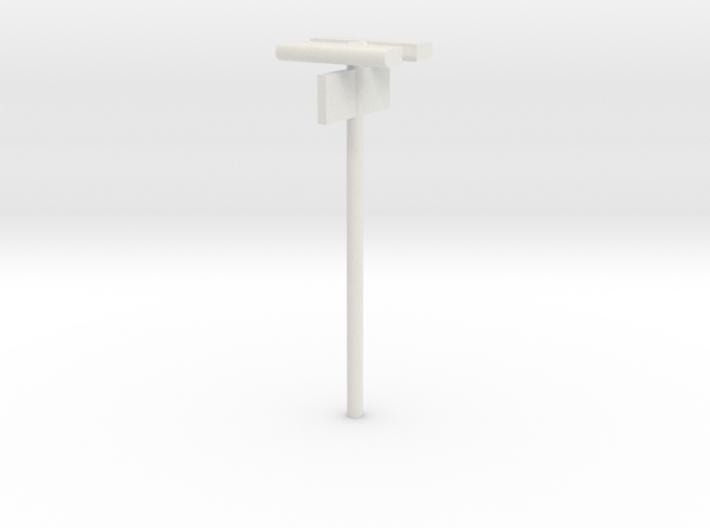DSB Stations lampe med perronafsnit (dobbelt) VIA  3d printed