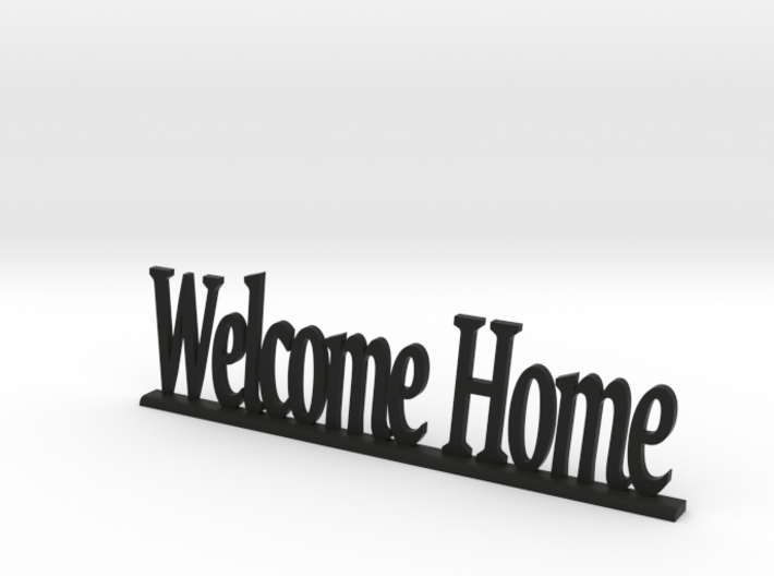 """Letters 'Welcome Home' - 7.5cm / 3"""" 3d printed"""